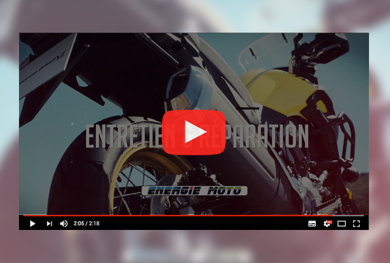 video energie moto free style Gien 2018