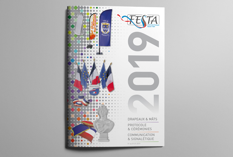 Couverture du catalogue Festa 2019